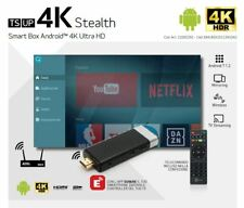 TELESYSTEM TS UP STEATH 4K SMART TV BOX ANDROID 4K ULTRA HD ANDROID 7.1.2 4CORE