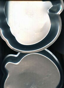 "TWO Wilton Pumpkin 9""  Pie Tins #2105-3970 - Good Used Condition"