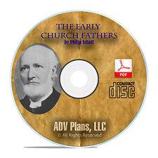 Early Church Fathers, Philip Schaff, All 38 Vols Christian Church History CD F03