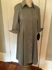 COMFY USA gray Dress Full Gored Skirt Size Small NEW