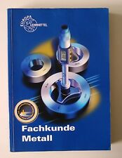 Fachkunde Metall von Eckhard Ignatowitz, Hans D Dobler, Max Heinzler, Reinhard V