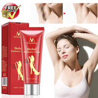NEW NATURAL PAINLESS HAIR REMOVAL CREAM REMOVE PERMANENT HAIR DEPILATORY