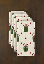 "Christmas Gifts 18"" x 18"" Napkins 1 Dozen"