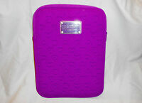 Marc by Marc Jacobs Dreamy Logo TABLET iPad Sleeve CASE Purple Note Samsung Tab