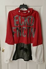 Ecko Function Men's Hoodie Jacket Red/White Size Large