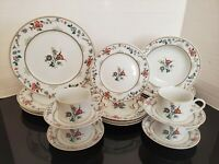 Oscar De La Renta New Symphony 20 PC Dinnerware Set Serving For 4