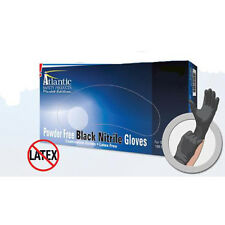 "Lightning Storm 12/"" Powder Free Blue Nitrile Gloves Xlarge lsxl"