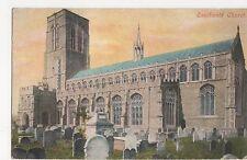 Suffolk, Southwold Church Postcard, A845
