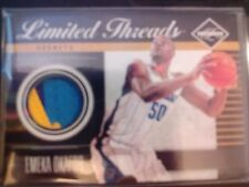 2011-12 Panini Limited #30 Threads Emeka Okafor Multi-Color Jersey #d 21/25