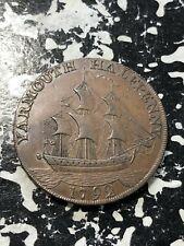 1792 Great Britain Norfolk Yarmouth Conder Token 1/2 Penny Lot#BG1 D&H-52
