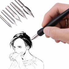 Pen Tip Pen Set Calligraphy Drawing Tool Set 5 Nib + 2 Holders