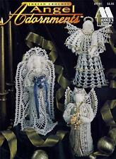 """Angel Adornments Crochet Booklet 6 Designs 9 3/4"""" to 12 3/4"""" from Annie's Attic"""