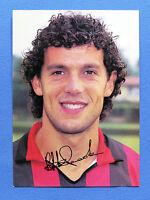 Sport Calcio - Autografo originale Robero Donadoni - Milan - 1988 ca.