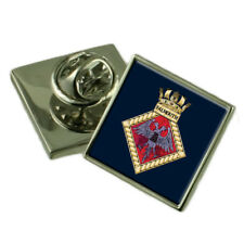 Royal Navy Falmouth Sterling Lapel Pin Badge
