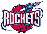 Houston Rockets NBA Color Die Cut Vinyl Decal Sticker Choose Size cornhole
