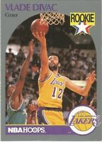 Vlade Divac Rookie RC Hoops 1990/91 - NBA Basketball Card #154