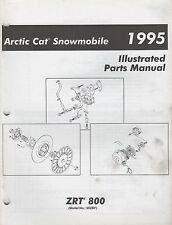 1995 ARCTIC CAT SNOWMOBILE ZRT 800 PARTS MANUAL P/N 2255-163 (754)