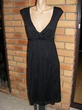 W LANE Mesh Plait Trim Size 14 Black DRESS rrp Easy Care FULLY LINED