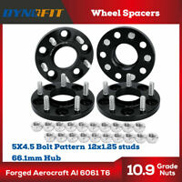 15MM Hubcentric Wheel Spacers 5x114.3MM 5X4.5 66.1MM M12X1.25 FIT INFINITI 350Z