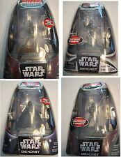 Star Wars Titanium 4 Figure Set - Darth Vader Boba Fett Sand Trooper