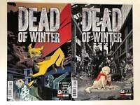 Dead of Winter #1 Variant Cover Set (Oni Press 2017) 2 Comics Board Game Horror