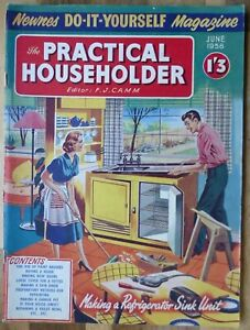 The Practical Householder June 1958, Good Condition.