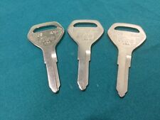 Ilco Brand Key Blanks, Set of 3, # X103 Ka14- Locksmith