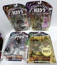 McFarlane Toys KISS Psycho Circus Tour Edition Complete Set of 4 Action Figures