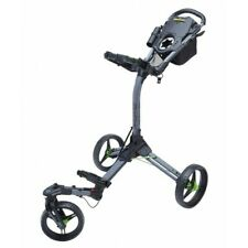 BAGBOY TRI SWIVEL II GOLF BUGGY  - GREY/LIME - NEW - AWESOME VALUE!!