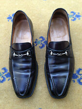 Berluti Men's Shoes Hand Made Black Leather Horsebit Loafers UK 6 US 7 EU 40