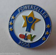 Anstecknadel --Powerseller 2004--
