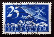 Suiza 1923 - 25 C SG318 NC1882 fino/usado de correo aéreo