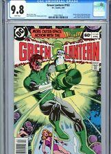 Green Lantern #163 CGC 9.8 White Pages DC Comics 1983
