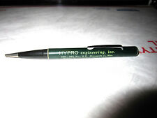 VINTAGE ADVERTISING MECHANICAL PENCIL W/ MAGNETIC END HYPRO ENGINEERING