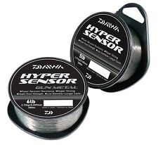 Daiwa Hyper Sensor Monofil Line 300M Spool All Sizes or Gun Metal Coarse Fishing