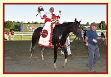 Songbird Wins Alabama Stakes Mike Smith Celebrates 11x14 matd 8x12 photo print