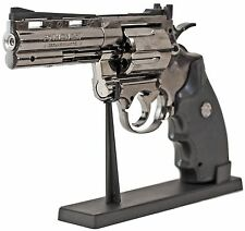 MAGNUM Sturmfeuerzeug 1 zu 1 Model Gas Nachfüllbar Revolver Piezo Flame Python