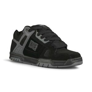 DC Stag Skate Shoes - Black / Black / Battleship