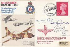 RAF32d 30th Anniversary Operation Varsity.Maurice  Tugwell, Parachute Regt June