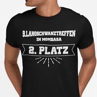 T-Shirt Langschwanztreffen Mombasa Spruch-Sprüche Spass witzig lustig S-5XL