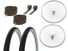 "26"" 72 Spokes Beach Cruiser Bicycle Wheel Set"