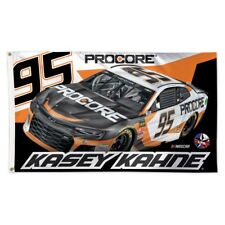 2018 Kasey Kahne #95 PROCORE 3 X 5 Deluxe Flag by WinCraft Ship