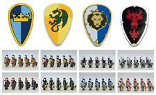 Medieval Knights Hoplites Minifigures Armies Lot Sale - Usa Seller