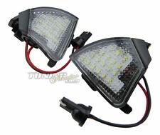 Para VW Seat Skoda 2x Espejo Exterior LED SMD Iluminación Ambiente Luz Kit