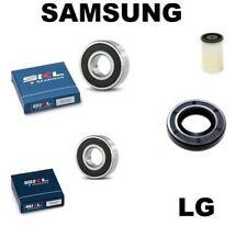 Samsung 6206 für LG 37x66x9,5//12 Wellendichtung und Lager 6205 4036ER2003A