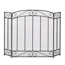 Home Locomotion Class Style Iron Fireplace Screen