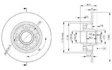 VALEO Disco de freno (x2) Trasero 240mm RENAULT MEGANE CLIO MODUS WIND 186897
