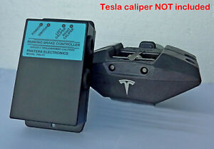 Electric Parking Brake Controller (push-button type) for Tesla/Brembo Calipers