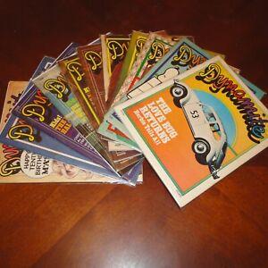 Lot of 11 Dynamite Magazines #4,6,7,8,9,11,13,14,15,80,91 Scholastic 1974