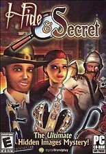 Hide & Secret:Treasure of the Ages HIDDEN OBJECTS/MYSTERY Game PC CD ROM
